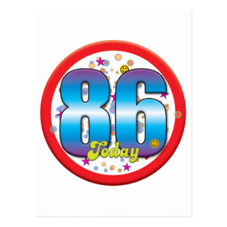 86th Birthday Today v2 Postcards