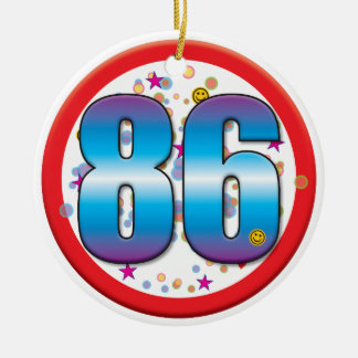 86th Birthday v2 Christmas Ornaments