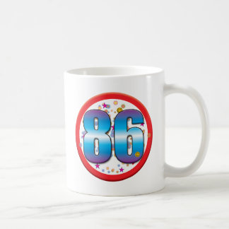86th Birthday v2 Coffee Mugs