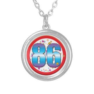 86th Birthday v2 Necklace