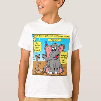 872 elephants and meerkat nose cartoon T-Shirt