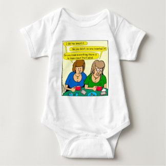 873 Who invented fruit salad cartoon Baby Bodysuit