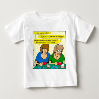 873 Who invented fruit salad cartoon Baby T-Shirt