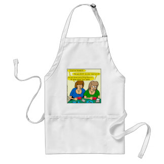 873 Who invented fruit salad cartoon Standard Apron