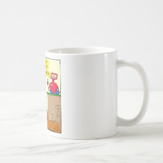 875 15 nano seconds robot cartoon coffee mug
