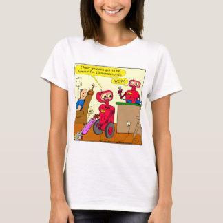 875 15 nano seconds robot cartoon T-Shirt