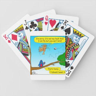 877 can not bird cartoon bicycle playing cards
