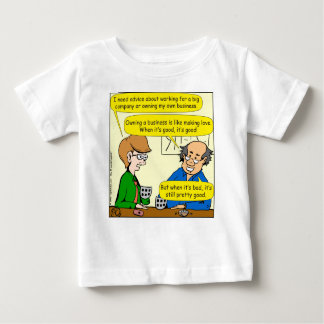 879 Own your own business cartoon Baby T-Shirt