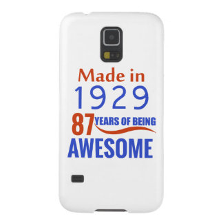 87 birthday design galaxy s5 case