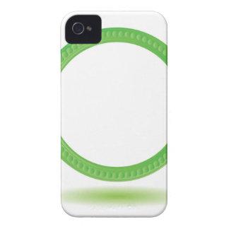 87Greewn Label_rasterized iPhone 4 Case
