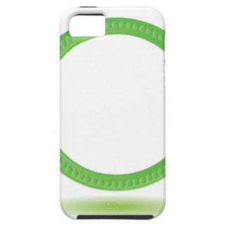 87Greewn Label_rasterized Tough iPhone 5 Case