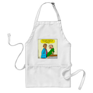 884 Dream I have insomnia cartoon Standard Apron