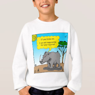 886 rhino tickle cartoon sweatshirt