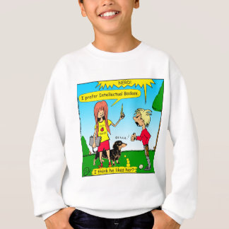 887 nerd wins argument cartoon sweatshirt