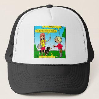 887 nerd wins argument cartoon trucker hat