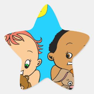 888 As I get older baby cartoon Star Sticker