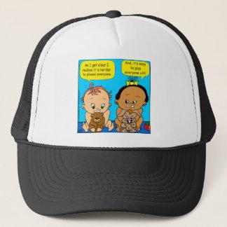 888 As I get older baby cartoon Trucker Hat