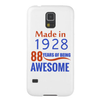 88 birthday design galaxy s5 cases