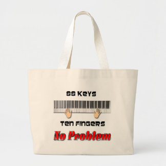88 Keys Jumbo Tote Bag