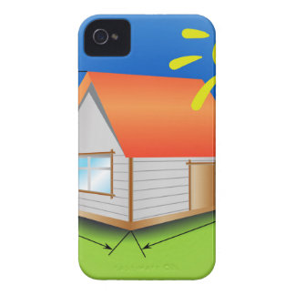 88House_rasterized iPhone 4 Case