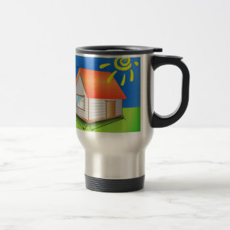 88House_rasterized Travel Mug