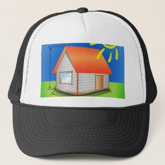 88House_rasterized Trucker Hat