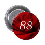 88th Birthday Pins