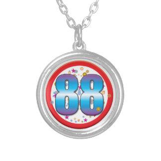 88th Birthday v2 Custom Necklace