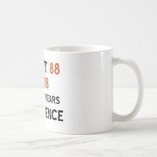 88th cool birthday designs coffee mug