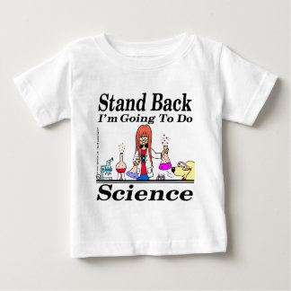890 stand back l'm going to do science cartoon baby T-Shirt