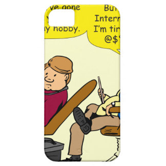 894 tired of your cat cartoon iPhone 5 case