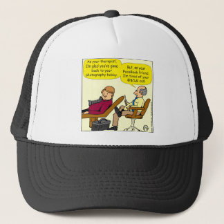 894 Tired of your cat cartoon Trucker Hat