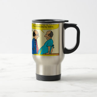 897 I don't exercise doctor patient cartoon Travel Mug