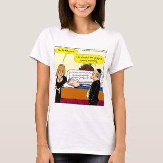 898 He looks good funeral cartoon T-Shirt
