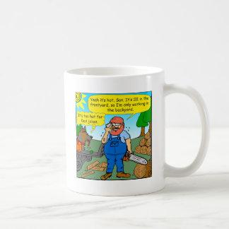 899 111 in front yard bad dad joke cartoon coffee mug