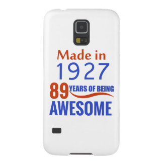 89 birthday design case for galaxy s5