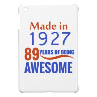 89 birthday design cover for the iPad mini