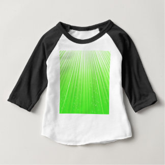 89Green Rays_rasterized Baby T-Shirt
