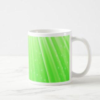 89Green Rays_rasterized Coffee Mug