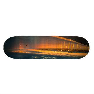 8 1/2 sunset skateboard