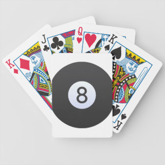 8 Ball Bicycle Playing Cards