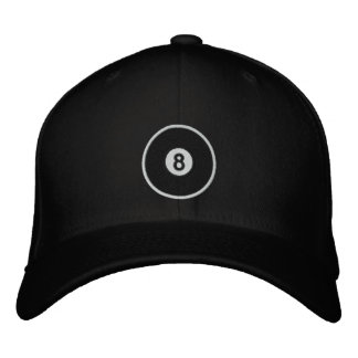 8 Ball Embroidered Hats