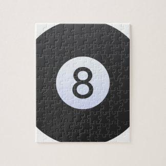 8 Ball Jigsaw Puzzle