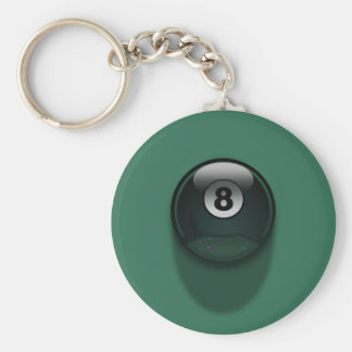 8-Ball Key Ring
