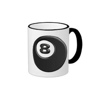 8 BALL RINGER COFFEE MUG