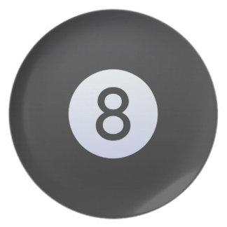 8 Ball Plate