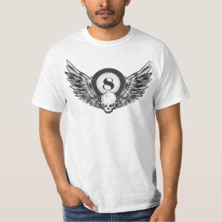 8_ball skull wings T-Shirt