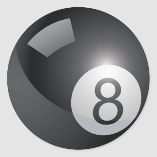 8 Ball Sticker