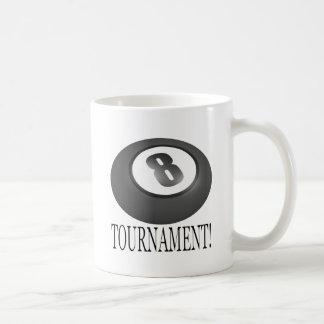 8 Ball Tournament 2 Basic White Mug