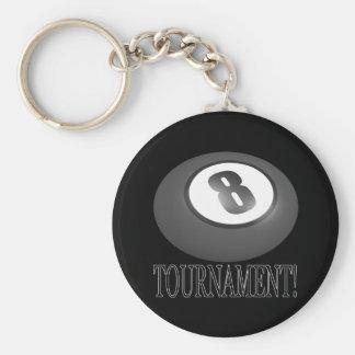 8 Ball Tournament 2 Keychain